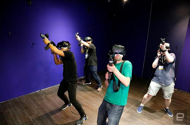 VR arcades need to be social to succeed