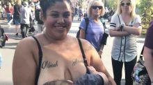 Mother shamed for breastfeeding at Disneyland speaks out