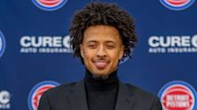 Detroit Pistons' Cade Cunningham honored to wear Chuck Daly's retired No. 2 jersey