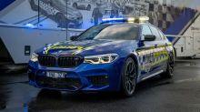 BMW M5 Competition ist das schnellste Polizeiauto Australiens