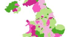 Coronavirus near me: are UK Covid-19 cases rising or falling in your area