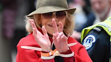Jane Fonda rings in 82nd birthday with 5th arrest at climate change protest