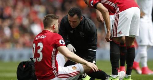 Foot - ANG - MU - Manchester United : fin de saison pour Luke Shaw