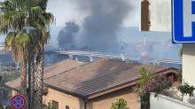 Un incendio en Pescara provoca 5 heridos y pone en jaque una reserva natural