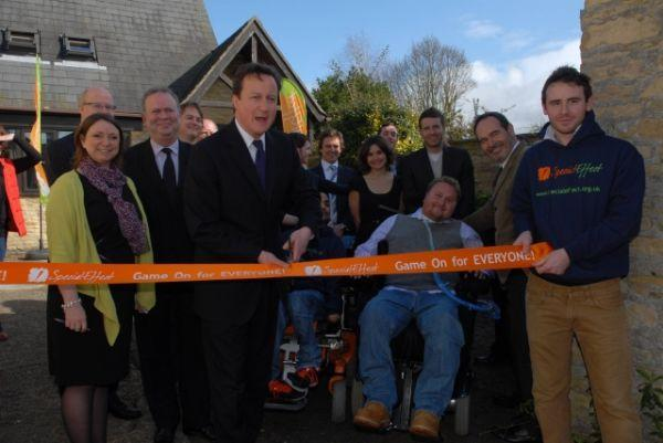 UK charity opens gaming visitor center / gaming gadget incubator for the disabled