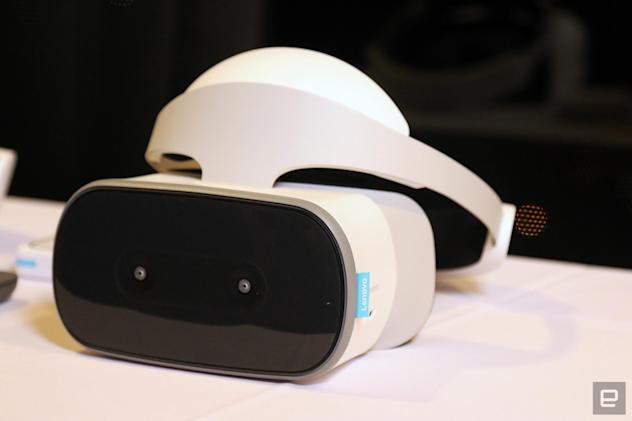 Lenovo's Mirage Solo makes the case for standalone Daydream headsets