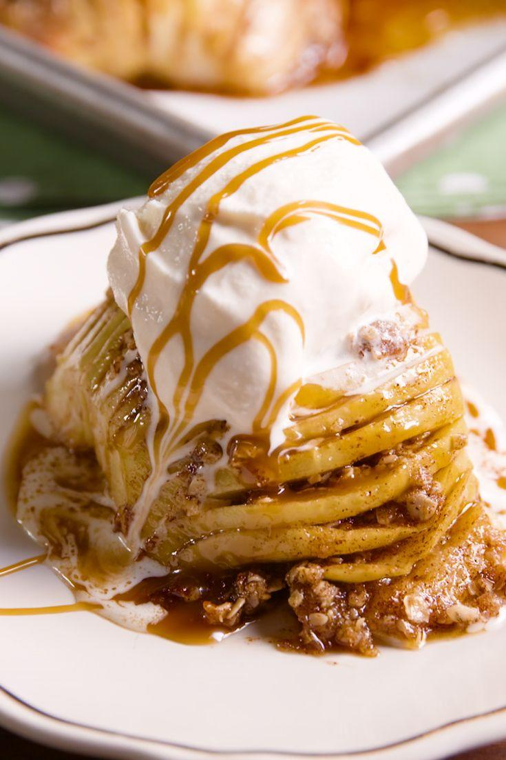 """<p>Here's the trick you need to try with apples A.S.A.P.</p><p>Get the recipe from <a href=""""https://www.delish.com/cooking/recipe-ideas/recipes/a43894/crustless-apple-pies-recipe/"""" rel=""""nofollow noopener"""" target=""""_blank"""" data-ylk=""""slk:Delish"""" class=""""link rapid-noclick-resp"""">Delish</a>.</p>"""