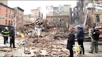 Crews Search Through Debris Of Buildings Affected By East Village Explosion