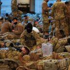 National Guard troops flood U.S. Capitol