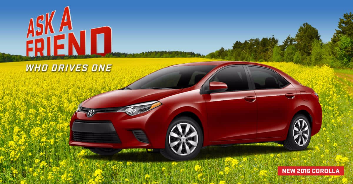 Checkout the New Corolla, Sleek Look Low Price