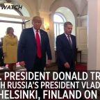 President Trump meets with Russian President Vladimir Putin in Finland