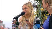 Kelsea Ballerini dishes on winning her 1st songwriting award