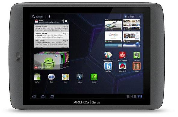 Archos G9 tablets priced: $300 and up, ship in September