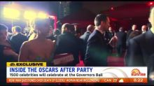 Inside the Oscars after party