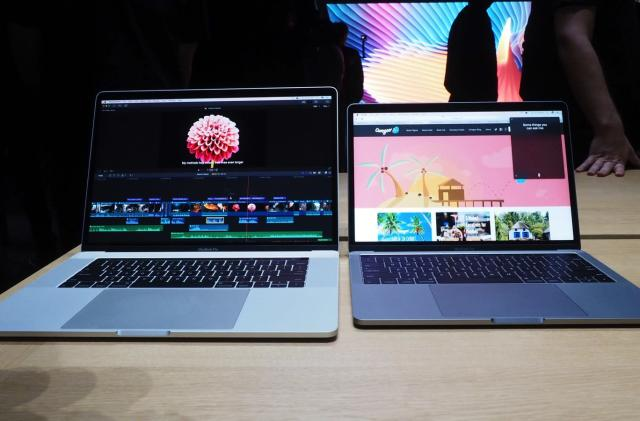 Apple's new MacBook Pro is slim, trim and has a stunning screen
