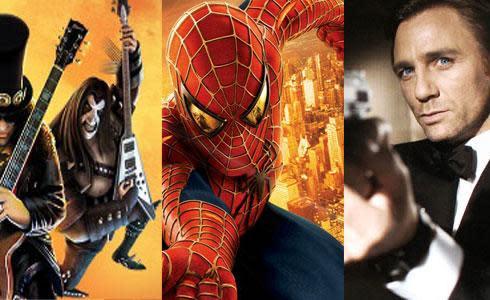 Activision's 2008 promises more Guitar Hero, James Bond, Spider-Man