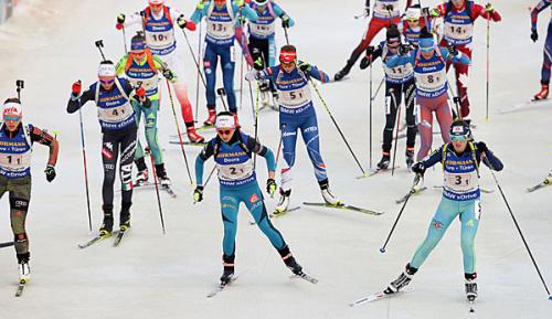Biathlon: CAS annulliert Dopingsperre der ukrainischen Biathletin Abramowa