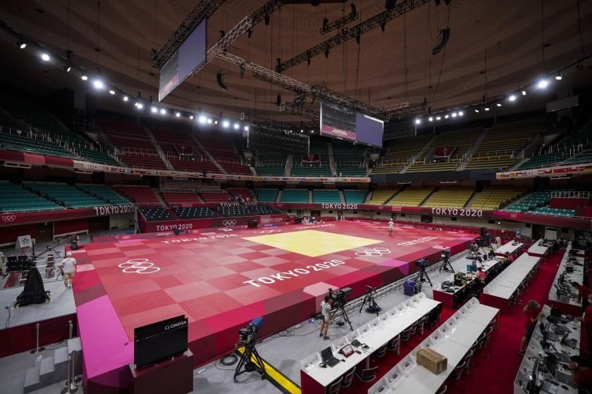 Image How Tokyo Olympic athletes deal with the loud sounds of silence