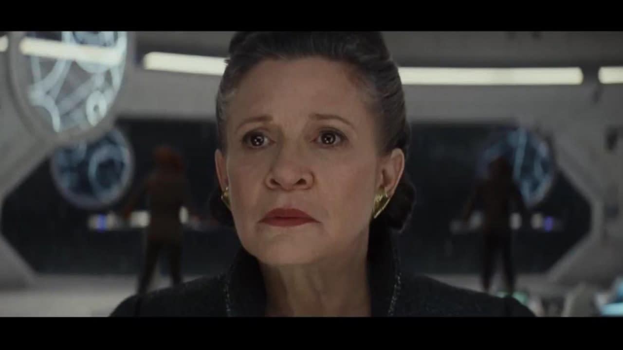 Star Wars Trailer Espn >> Rey and Kylo Ren feature in new 'Star Wars: Last Jedi' trailer
