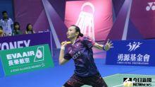 羽球/戴資穎模擬賽測試 國際女單少有速度讓球后跟不上