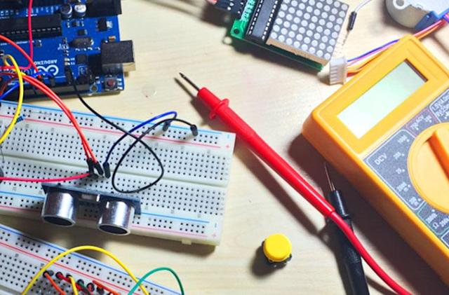 Learn how to build 15 Arduino projects from scratch