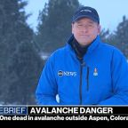 Avalanche kills one person in Colorado outside of Aspen, officials say