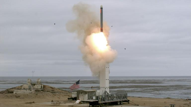 US military tests ground-based cruise missile