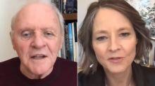 Anthony Hopkins y Jodie Foster, 30 años después de 'El silencio de los inocentes'