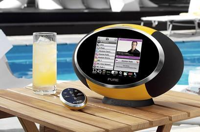 Pure Sensia DAB / WiFi radio gains touchscreen, streaming and Facebook
