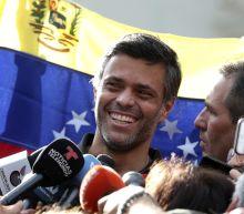 Maduro foe joins family in Spain after fleeing Venezuela