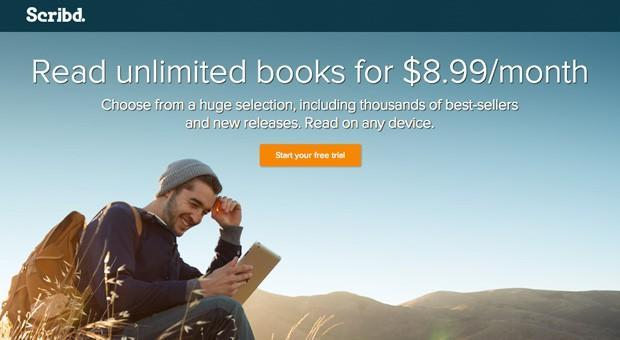 Scribd takes on Amazon, brings its subscription e-book service to Kindle Fire tablets