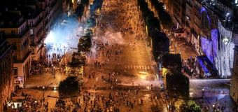 World Cup partying marred by clashes, looting
