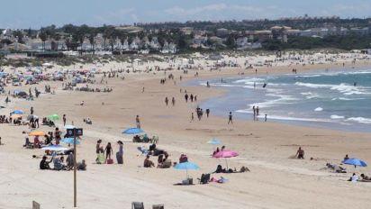Mañana, alivio de temperaturas en el interior y aumento en el Mediterráneo