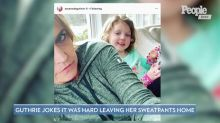 Today 's Savannah Guthrie Is Back to Working from Home: 'I'm Sticking Close to the Family'