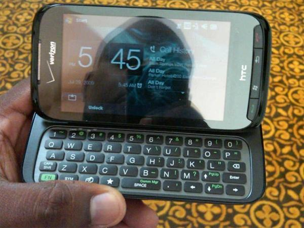 Verizon-branded Touch Pro2 plays 'spot the difference' with previous spy shot