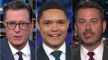 Late-Night TV Hosts Highlight Strangest And Funniest Parts Of Democratic Debate