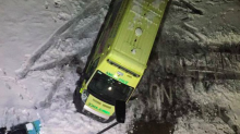 'Help needed!' Twitter comes to the rescue of ambulance trapped in the snow