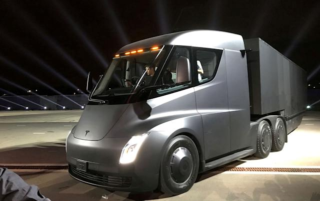 Tesla is ready to mass-produce the Semi, Elon Musk says