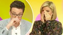 Joe Hildebrand quits Studio 10 leaving Sarah Harris in tears