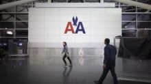 American Airlines jet blows tire, catches fire at Chicago airport
