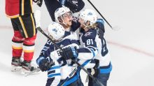 Winnipeg Jets douse Calgary Flames 3-2 to even up qualifying series