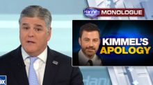 Hannity invites Kimmel to his show, threatens to air more 'lowlights' if 'unfair attacks' continue