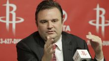Rockets GM Daryl Morey declines to address China controversy on way out