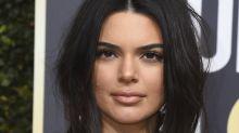 """Critican a Kendall Jenner por su paso """"con acné"""" en los Globos de Oro, ¡mira su respuesta!"""