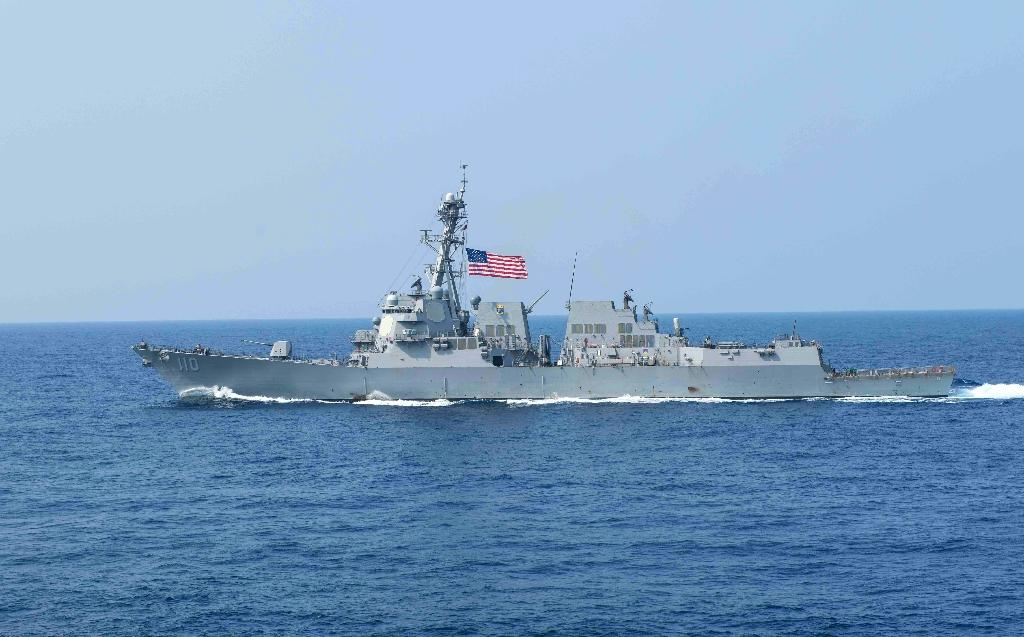 US warships have been patrolling near the Chinese-claimed Scarborough Shoal and Spratly Islands