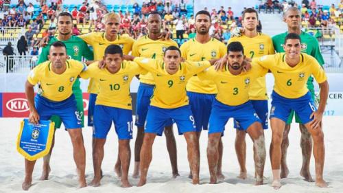 Seleção Brasileira de beach soccer tem novo patrocinador