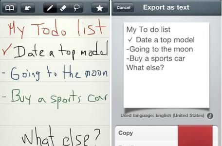 Daily iPad App: MyScript Memo takes your handwriting and turns it into text