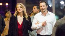 Amber Heard Glows, Shows PDA With Boyfriend Elon Musk on Romantic Date Night in Australia