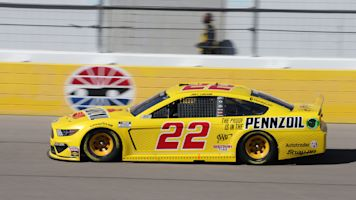 Decision not to pit earns Joey Logano a win at Las Vegas