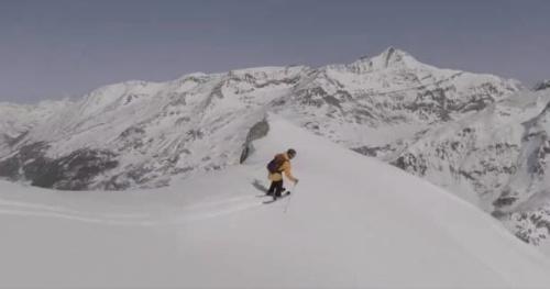 Ski - Vidéo : grosse ballade de printemps pour Léo Taillefer